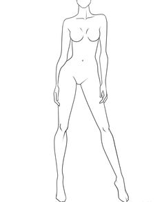 Fashion design sketches 315392780155690010 - This could be a good croqui to use for athletic wear Right? Source by ZusmanElen Fashion Figure Drawing, Fashion Model Drawing, Fashion Model Poses, Fashion Design Drawings, Fashion Sketches, Croquis Fashion, Fashion Illustration Poses, Illustration Mode, Fashion Illustration Template