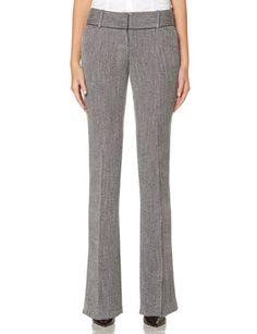 Drew Herringbone Bootcut Pants from THELIMITED.com