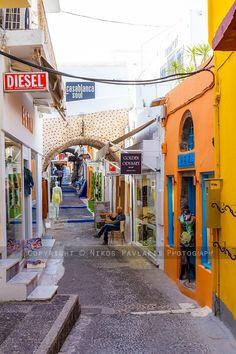 Shops in Fira - Santorini, Greece