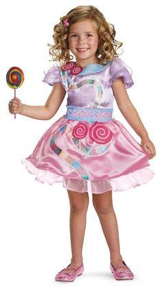 Girls Candyland Costume Fancy Dress