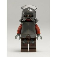 LEGO The Lord of the Rings: Uruk-hai Minifigure with Helmet and Armour
