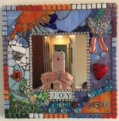 Mosaic Mirror Breaking Free SueGibsonWilson.com