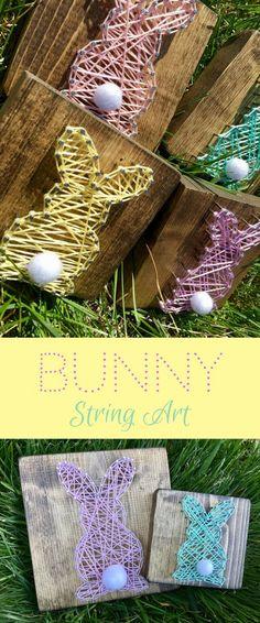 Mini Bunny Rabbit String Art a6e246891d7