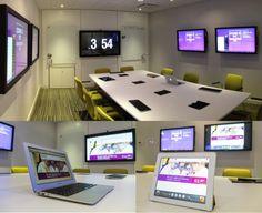 Multi-Display Meeting Room