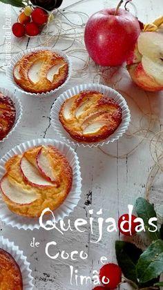 cromas da cozinha: Queijadas de Coco e Limão (sem açúcar ... sem glut...