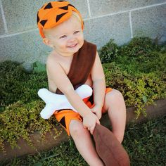 bam bam costume and club hat 9 month 12 month by HTHRGRC3HEATHER, $45.99 More