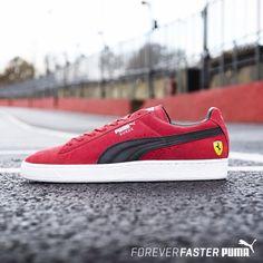 Ferrari x PUMA Suede