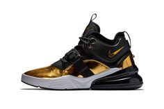 """Nike Air Force 270 """"Gold Standard"""" Releases this Month"""