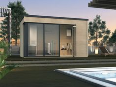 Ideales Poolhaus