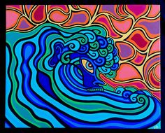 He of the Sea by lesliebaylinson on Etsy