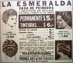 La Esmeralda Casa de Peinados 1935