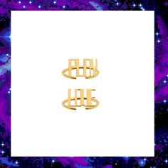 PLAY LOVE MIDI RING SET £90.00 Midi Rings, Out Of This World, Techno, Jewelry Collection, Play