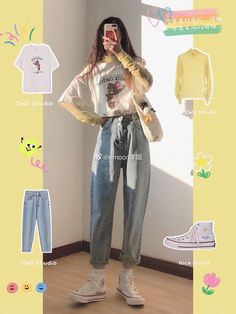 Korean Girl Fashion, Ulzzang Fashion, Korean Street Fashion, Korea Fashion, Asian Fashion, Look Fashion, India Fashion, Tokyo Fashion, Korean Outfit Street Styles