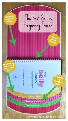Wondering what the best selling pregnancy journal is? Here is a description of the best pregnancy journal around and where you can buy it. Pregnancy Diary, Pregnancy Books, Pregnancy Journal, Pregnancy Tips, Pregnancy Stages, Kids Fever, Baby Fever, Baby Massage, Pregnant Mom