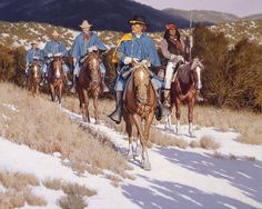 Riding Patrol by David Nordahl kp American Soldiers, American Civil War, American History, Apache Indian, Native Indian, American Indian Wars, Native American Indians, Scouts, Soldier Blue