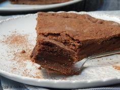 Crostata con crema al cioccolato e caffè