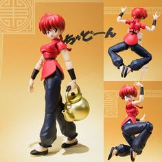 S.H.Figuarts Ranma Saotome Girl Ver. from Ranma 1/2  Now available in stock from: http://www.figurecentral.com.au/products/s-h-figuarts-ranma-saotome-girl-ver-from-ranma-1-2-bandai-tamashii-in-stock?variant=16816373505  #shfiguarts #ranmasaotome #ranma #bandai #figurecentral