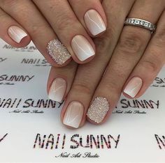 Here you can find winter nail designs that look elegant and lovely. We have picked amazing winter-themed nail designs that can reveal your creativity. Winter Nail Designs, Winter Nail Art, Gel Nail Designs, Winter Nails, Summer Nails, Unique Nail Designs, Art Designs, Winter Wedding Nails, Winter Makeup