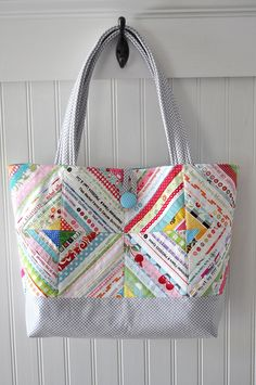 Selvage Tote by Pleasant Home
