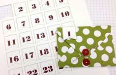 My Digital Studio | Number Banners, perfect for an advent calendar project