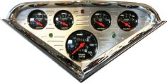 Tuckers Classic Auto Parts - Chevy Truck Parts - GMC Truck Parts :: Interior :: Instruments Cluster :: Complete Cluster :: Custom :: Billit Gauge Cluster