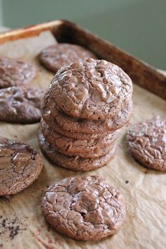 Whole Wheat Brownie Cookies
