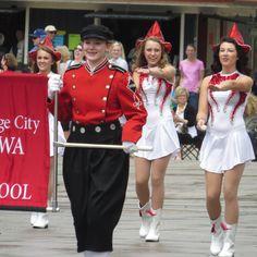 MOC-FV High School  Pride of the Duthmen Band Orange City Iowa