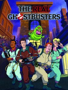 The Real Ghostbusters/Slimer! And The Real Ghostbusters [September 1986 - September 1980 Cartoons, Old School Cartoons, Retro Cartoons, Vintage Cartoon, Classic Cartoons, Saturday Morning Cartoons 80s, Vintage Toys, Die Geisterjäger, The Real Ghostbusters