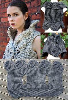 Bom Dia!!!  No blog http://crochetemoda.blogspot.mx/  tem trabalhos lindos!!  Adorei este modelo  Bjs....