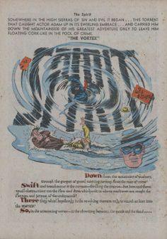 eisner Will Eisner, Greatest Adventure, Comic Art, Crime, Spirit, Comics, Movie Posters, Painting, Film Poster
