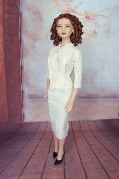 I have heard that you can enlarge Tyler patterns 138% to fit the American Model doll.  That's true and made the starting process a little ea...
