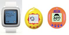 The new Pebble Watch is being compared to a modern Tamagotchi - all we can say is, bring back tamagotchis!