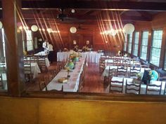 Norris dam state park tea room school themed wedding