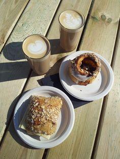 Breakfast at Toverhallerne Market #Breakfast #Toverhallerne #Copenhagen #Copenhague #PetitDejeuner #Coffee #Food #Delicious