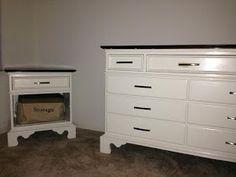 Mid Century Dresser Painted White Dresser Mid Century And Hardware