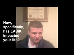 Student, Alex Kieselstein talks about his LASIK procedure with Dr. Mandel in a video testimonial for Mandel Vision.