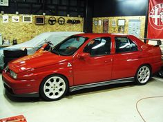 Alfa 155, back in the day's i really liked it.