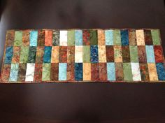 Strip Quilt / Table Runner