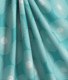 Portfolio Super Nova Teal Fabric : Image 4