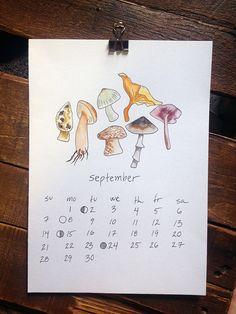 2014 Calendar by hannahtegan