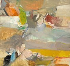 Richard Diebenkorn, Berkley 46, 1955. Oil on canvas. 149.6 x 157.2 cm.MoMA, New York.