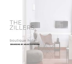 Branding The Zillers Boutique Hotel Hotel Branding, Branding Agency, Logo Branding, Brand Identity, Branding Design, Graphic Design, Marketing, Boutique, Studio
