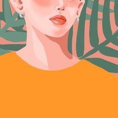 크리에이티브 네트워크 노트폴리오는 여기저기 흩어져 있는 아티스트와 디자이너들이 한 곳에 모여 자신의 작품을 공개하고 이야기하는 공간입니다. Simple Illustration, Character Illustration, Little Girl Drawing, Mid Century Modern Art, Background Pictures, Cartoon Drawings, Art Inspo, Character Design, Artsy