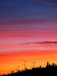 Sunset/sunrise: Fulham sunset