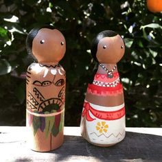Hey, I found this really awesome Etsy listing at https://www.etsy.com/listing/516761165/moana-inspired-peg-doll-set
