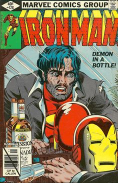 Iron Man Vol. 1 #128 | Community Post: 30 Animated Comic Book Covers That Are Downright Hypnotizing