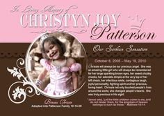 images of in memory of   In Memory of Chrissie