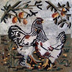 Horoz mozaik