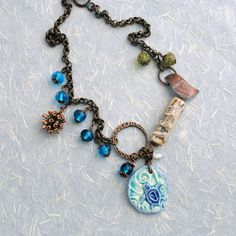 Porcelain pendant by Sheri Mallery,   The Wildlife Haven of this Seaside Refuge by gillianandlars, $158.00