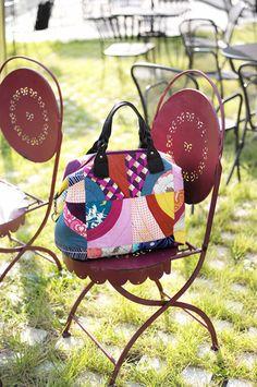 modern patchwork quilt bag..  www.familyquilt.co.kr